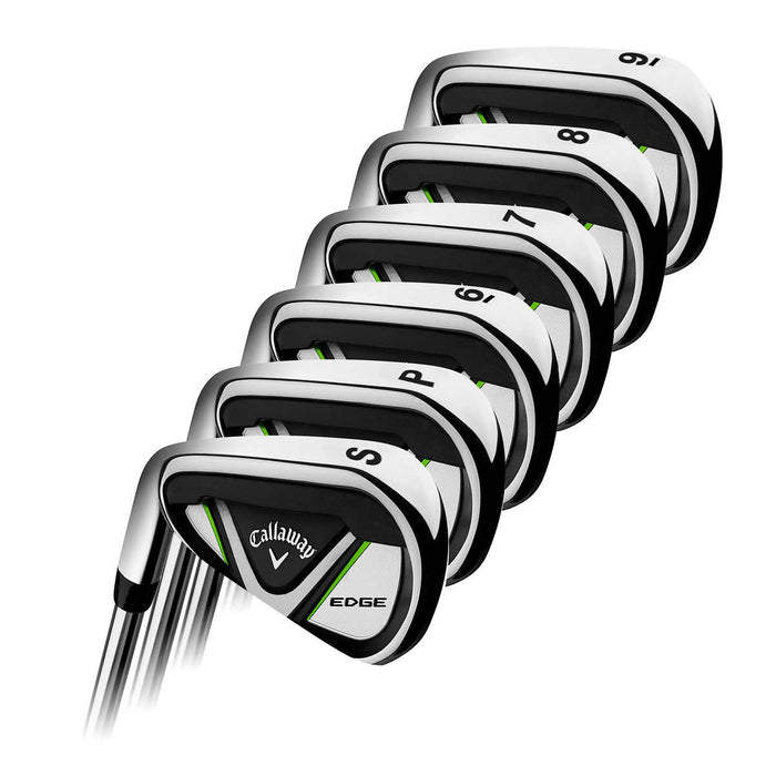 Callaway Edge 10-piece Golf Club Set, Left Handed