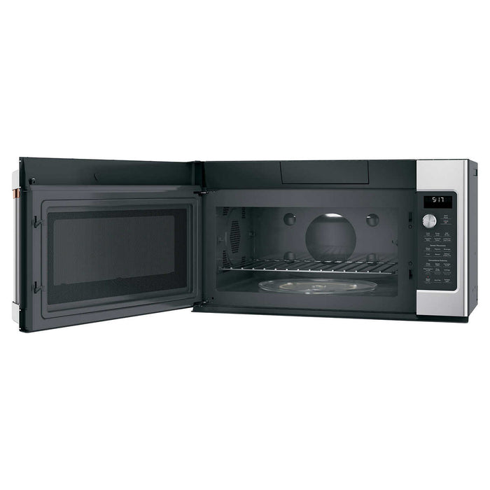Café 1.7CuFt Convection Over-the-Range Microwave Oven in Stainless Steel