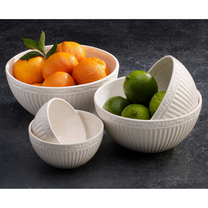 Mikasa Italian Countryside 5-piece Stackable Servebowls