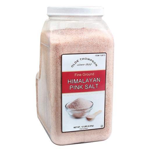 Olde Thompson Fine Ground Himalayan Pink Salt, 12 lbs