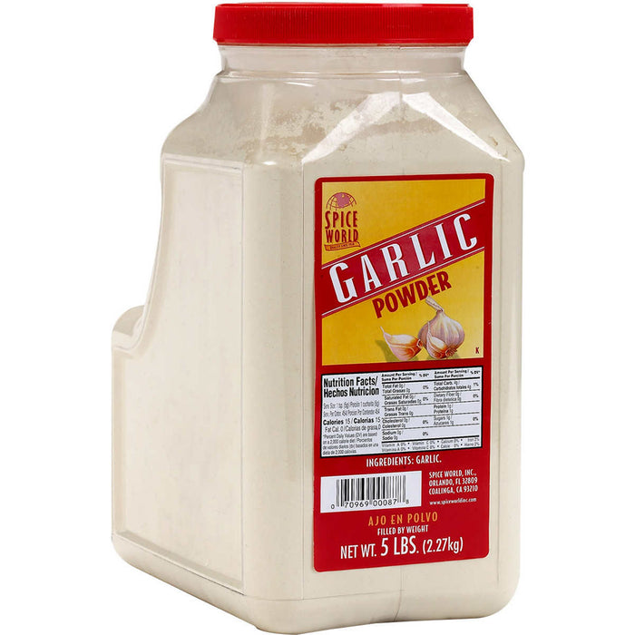 Spice World Garlic Powder, 5 lbs