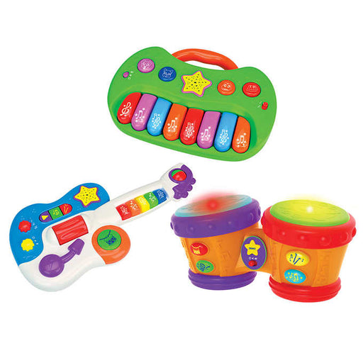The Learning Journey: Let's Make Music Combo, 3-pack