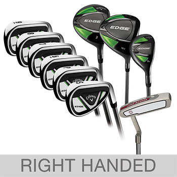 Callaway Edge 10-piece Men's Graphite Golf Club Set, Right Handed