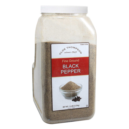 Olde Thompson Fine Ground Black Pepper, 5 lbs