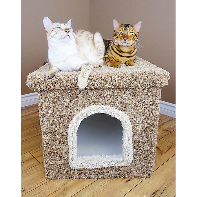 New Cat Condos Premier Large Litter Box Enclosure