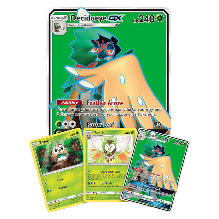Pokémon Set of 2 Premium Collection Boxes: Decidueye-GX and Incineroar-GX