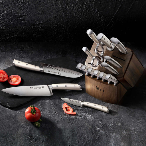 Cangshan S1 Series 17-piece Forged German Steel Knife Set