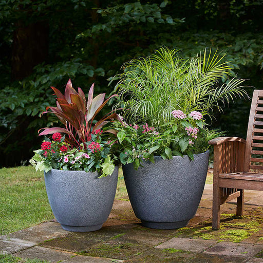 Monzonite Metro Planter, 2-pack