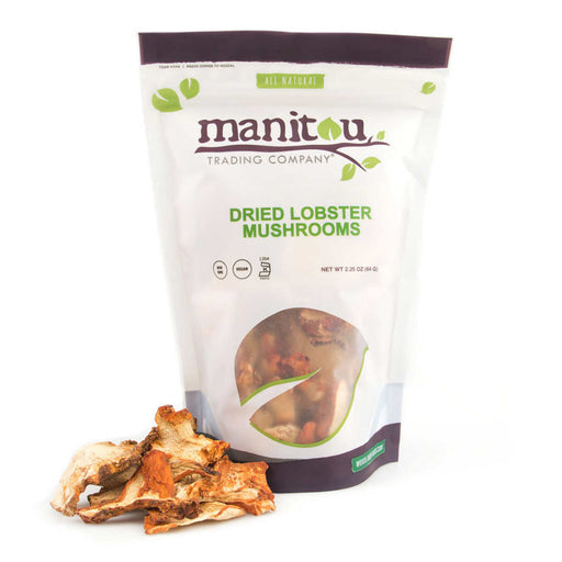 Manitou Dried Lobster Mushrooms 2.25 oz, 4-pack