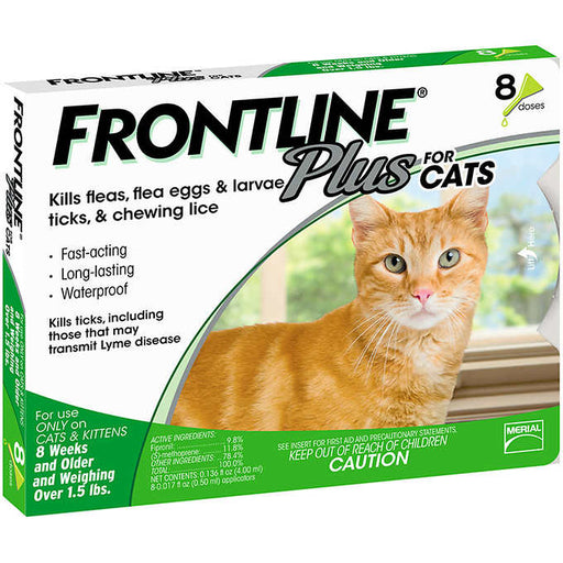 Frontline Plus Cat, 8 Single Doses