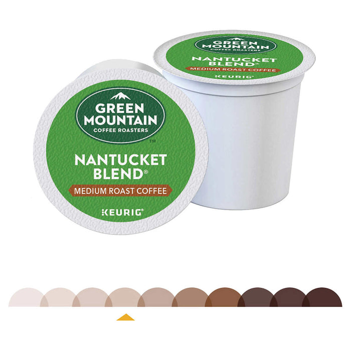 Green Mountain, Nantucket Blend, Medium Roast, K-Cup Pods, 96-count