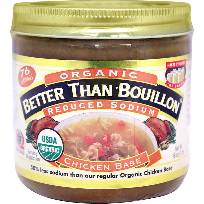 Better than Bouillon Organic Chicken Base, 16 oz