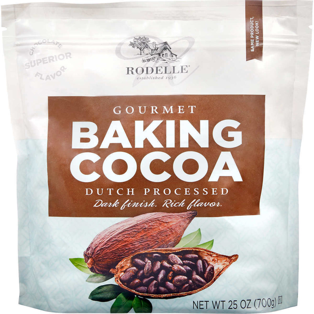 Rodelle Gourmet Baking Cocoa Powder, Dutch Processed, 25 oz