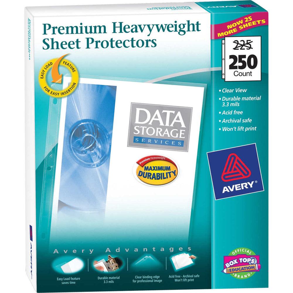 Avery Heavyweight Sheet Protector, 250-count