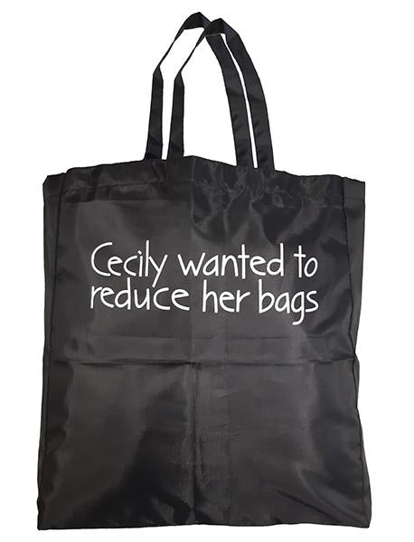 Cecily wanted to reduce her bags - Cecily Shopping Bag