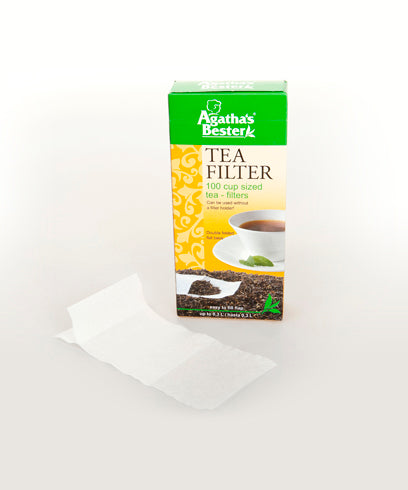 Agatha's Bester Cup-Sized Tea Filters (100 Pieces)