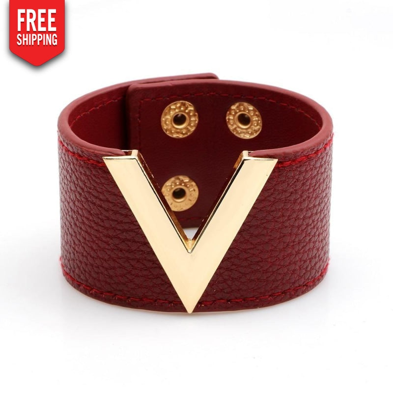 Genuine Leather Bracelet NAcloset