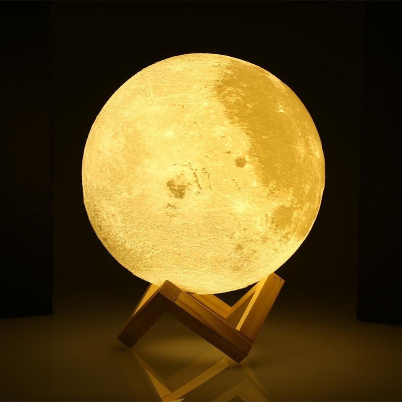 Moon lamp 3D NAcloset