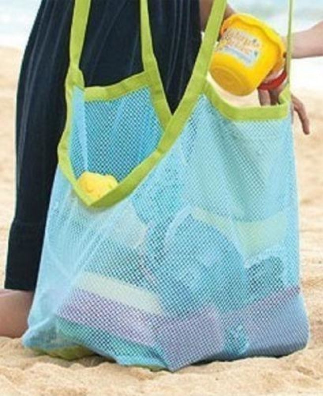 Knitted beach bag NAcloset