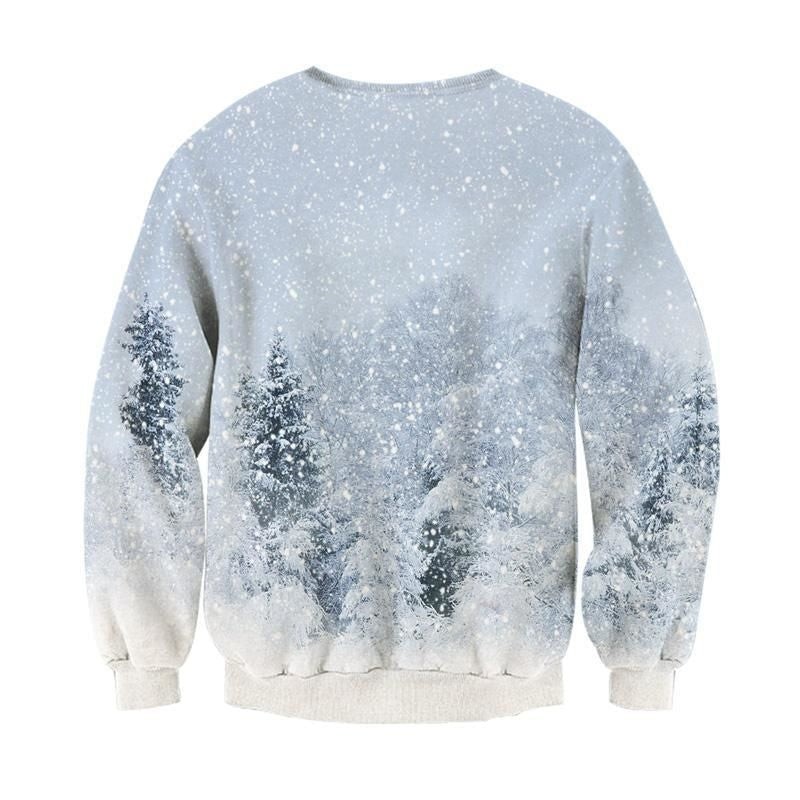 Cat Sweatshirt Christmas NAcloset