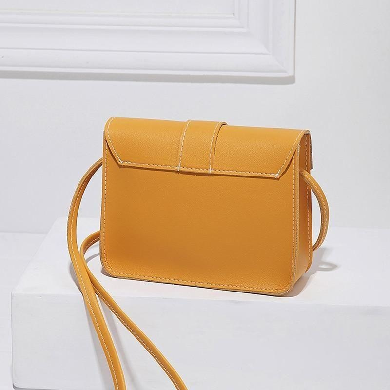Mini Crossbody Bag Synthetic Leather NAcloset