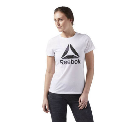 Reebok Wor CS Graphic Tee White Short Sleeve Sweater
