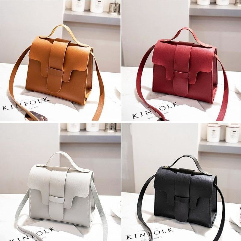 Casual Leather Shoulder Bag NAcloset