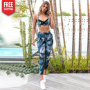Summer floral style bra and pants set NAcloset