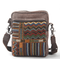 Hippie bag on embroidered canvas NAcloset
