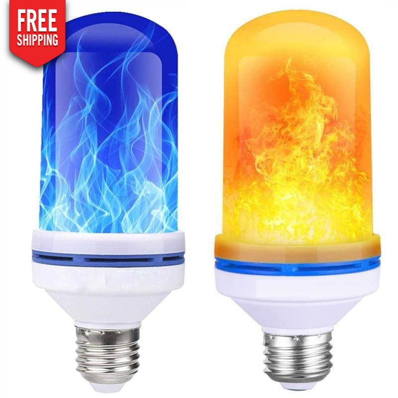 Led fire light bulbs NAcloset