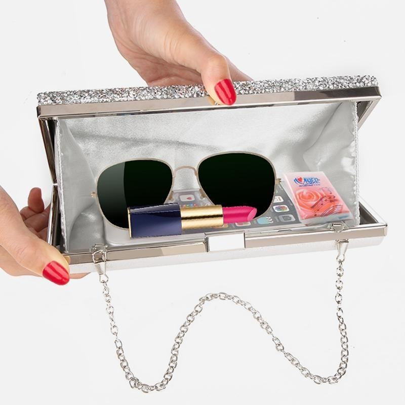 Clutch Diamond Evening Bag NAcloset