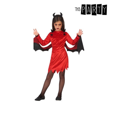 Red Demon Kids kostume (3 stk)