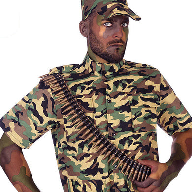 116182 Golden Camouflage Costume Accessories