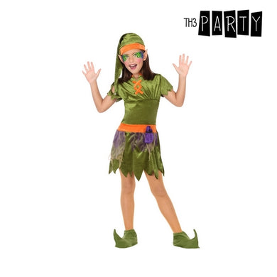 Green Elf Kids Costume (5 Stk)