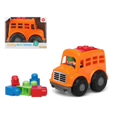 114591 Orange Block Building Game (6 Pcs)