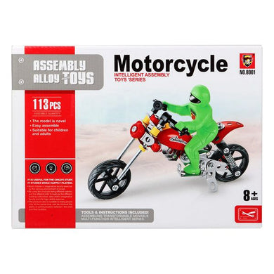 117585 Motorcycle Construction Game (113 Pcs)