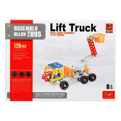 Construction Game Truck with crane 117622 (120 Pcs)