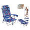 Padded Camping Chair 118505 Blue