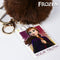 Anna Frozen 74024 Plush Key Ring Purple