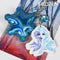 3D Elsa Frozen 74062 Key Chain Blue
