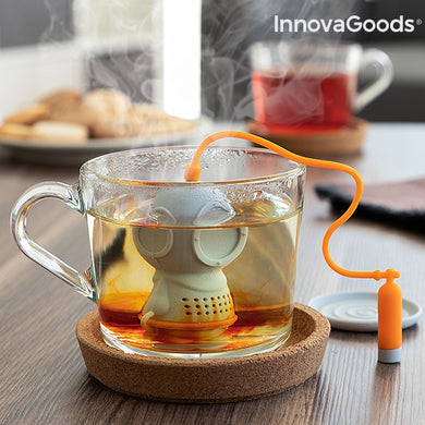 Diver · t InnovaGoods Silicone Tea Infuser