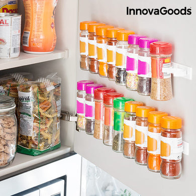 Adhesive and Divisible Spice Organizer Spicer X20 InnovaGoods