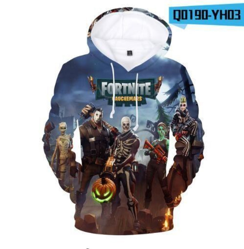 Fortnite 3D Hoodies Sweatshirt unisexo NAcloset