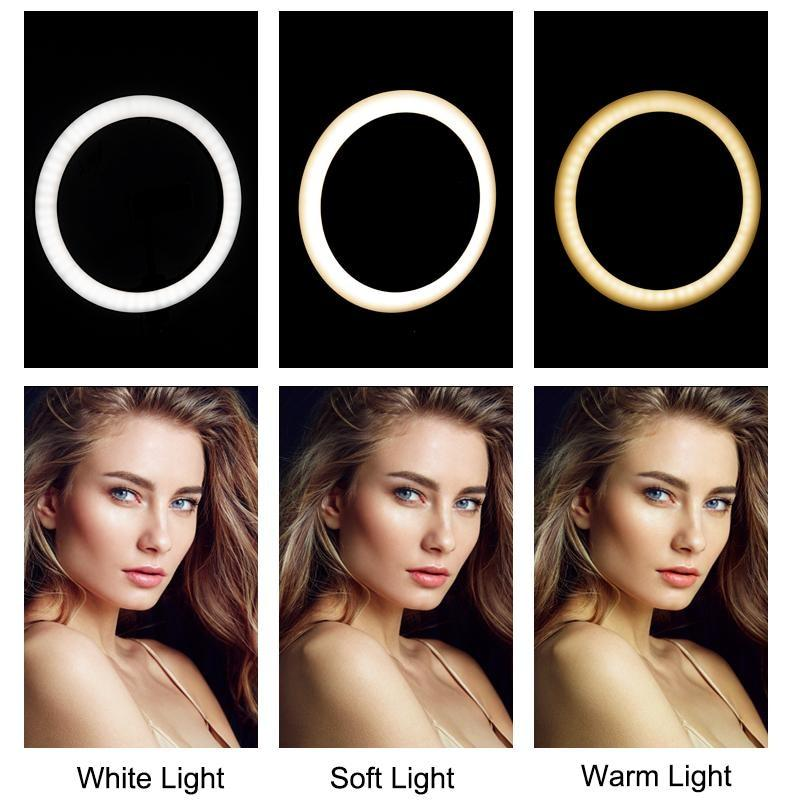 Led Light Ring with Tripod Influencer Videos and Selfie Photos NAcloset