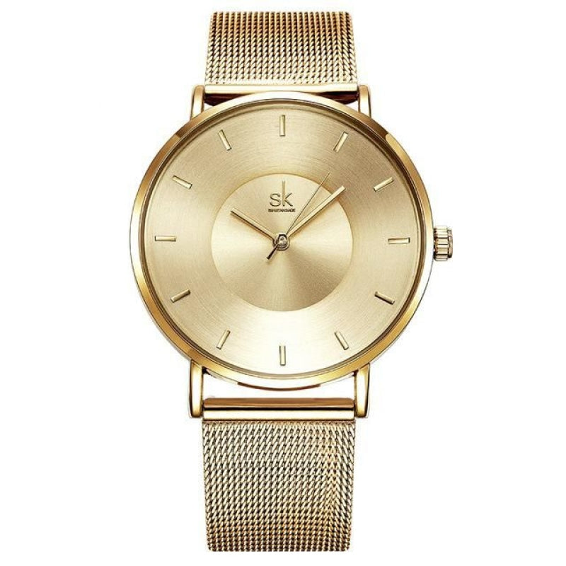 Ultra Thin Quartz Women's Watch NAcloset