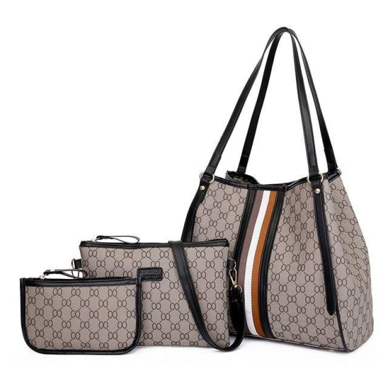 3 Leather Women Bag Set NAcloset