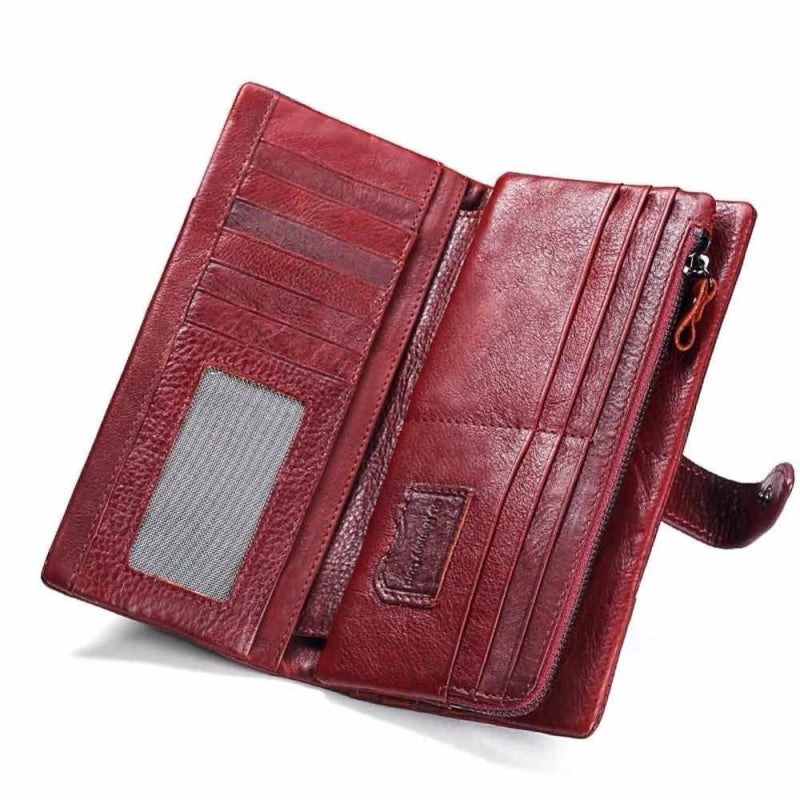 Kavis Italian Leather Wallet NAcloset
