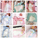 Unicorn Knitted Children's Blanket 60x120cm NAcloset
