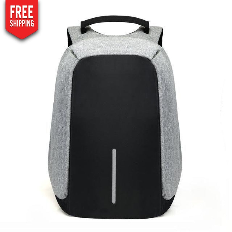 Anti-theft backpack with USB