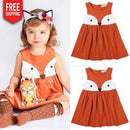 Toddler Dress Short Sleeve Baby Girl og Child Dress NAcloset